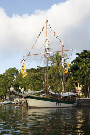 Vega / Jotun in the Banda Islands