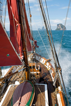 Strong winds and great sailing